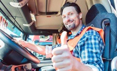 Pomocník profesionálního řidiče na cestách