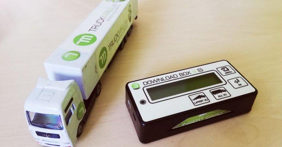 """Stahování dat ze """"smart"""" tachografů a karet řidičů 2G"""